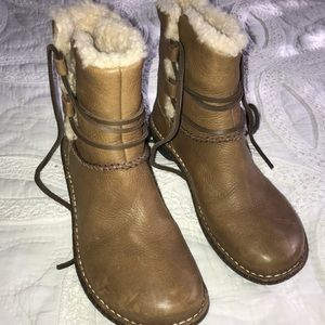 New UGG leather boots